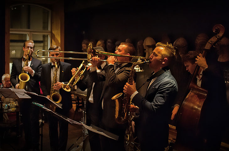 Jazz på Hotel Hellsten